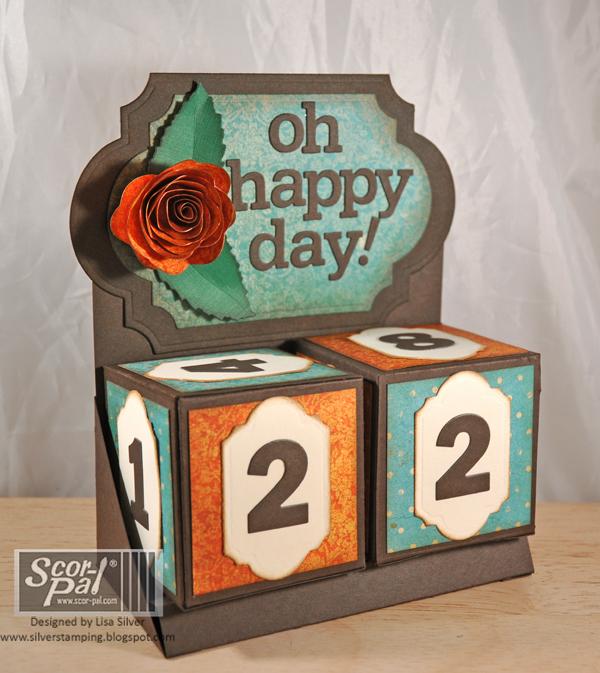 Perpetual Calendar Cube : Scor pal perpetual calendar by lisa silver