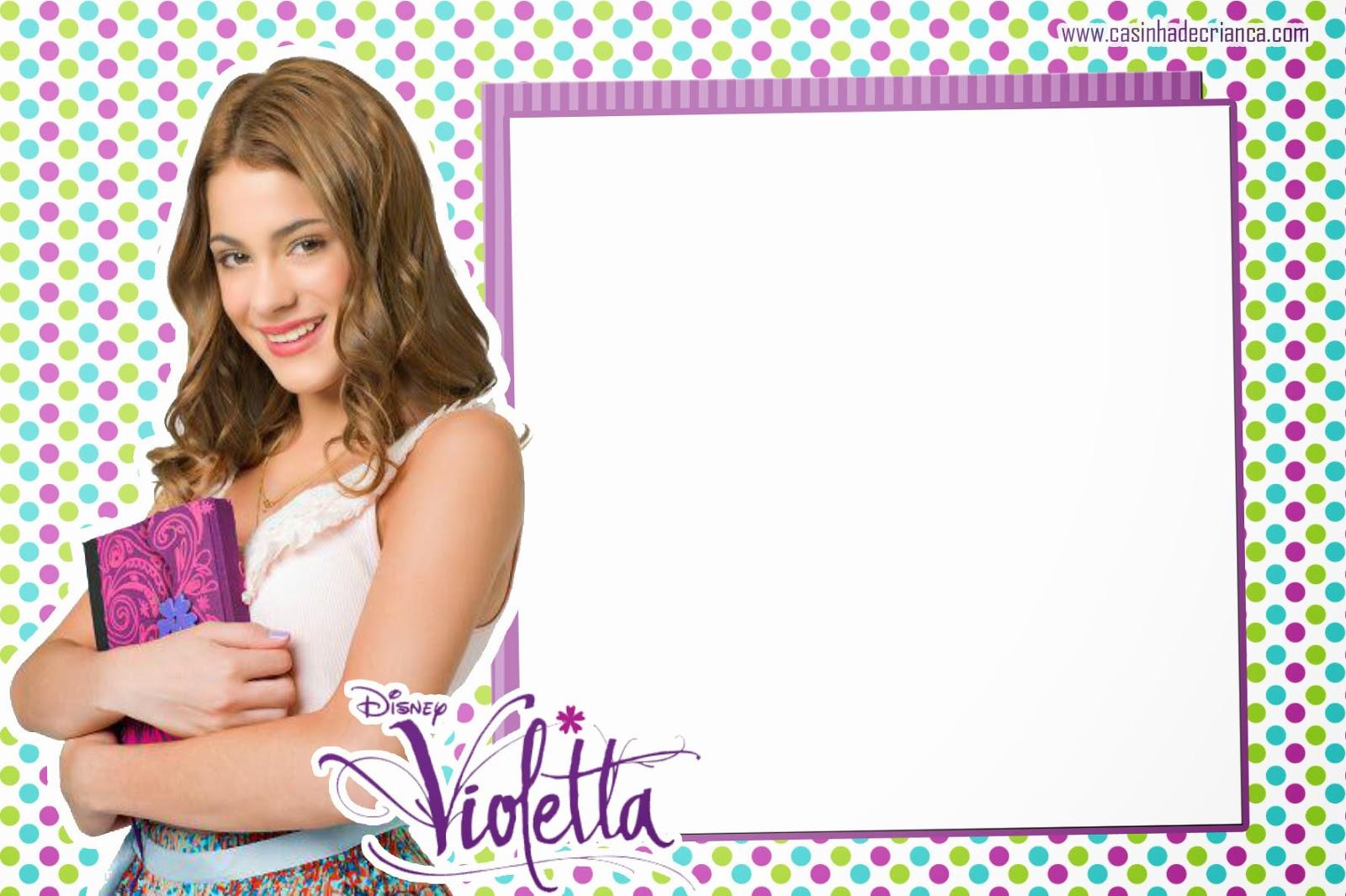 Kit De Violetta Para Cumple Anos Gratis