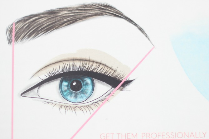 How to shape the perfect brow