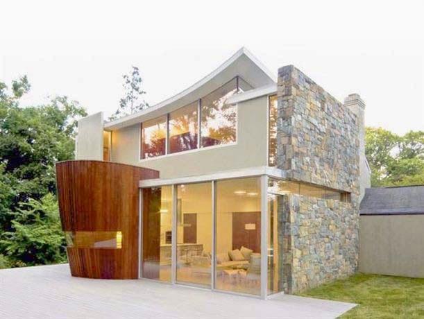 Contoh model rumah modern ala korea simple terbaru saat ini