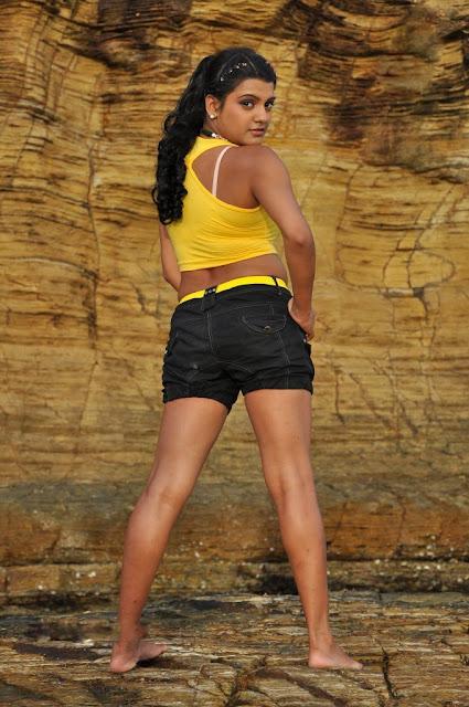 Tashu Koushik Hot Back Pose Stills