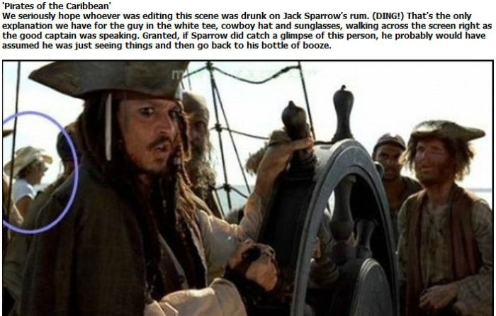Worst Movie Mistakes in History (15 pics) | Crack Two