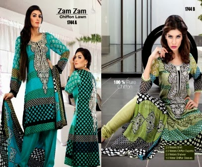 Summer Collection by Dawood Lawn Designs