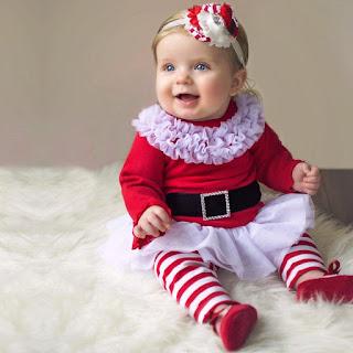 Kostum Natal Untuk Bayi Lucu