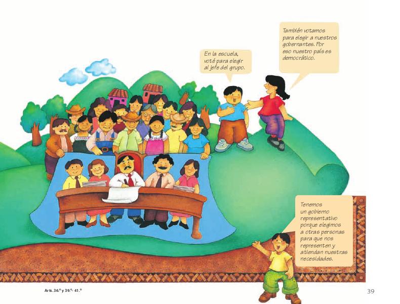 El gobierno - Conoce nuestra Constitución 4to 2014-2015