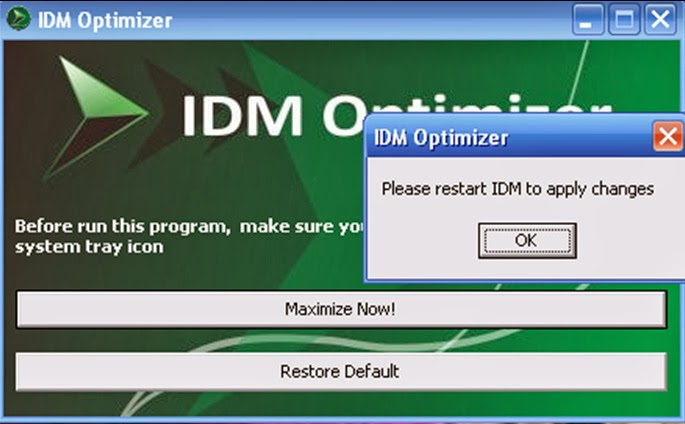 Simple Trick on how to increase the download speed of IDM using IDM Optimizer 100% working Free Download