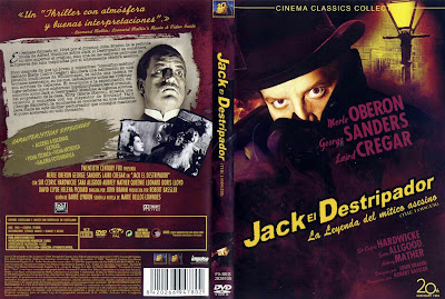 Cover, dvd, carátula: Jack, el Destripador | 1944 | The Lodger
