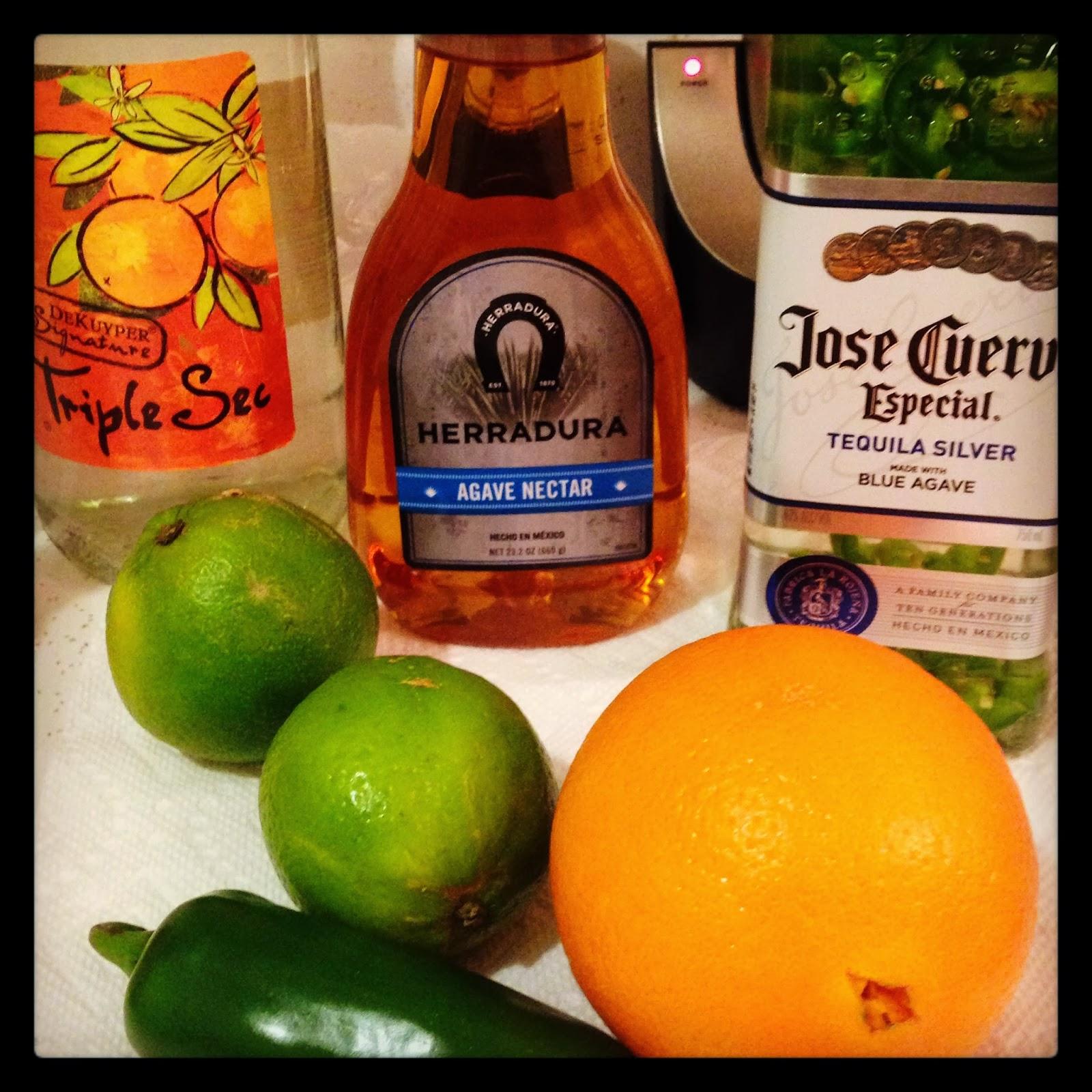 Tartan & Sequins: Spicy Jalapeño Margaritas Recipe