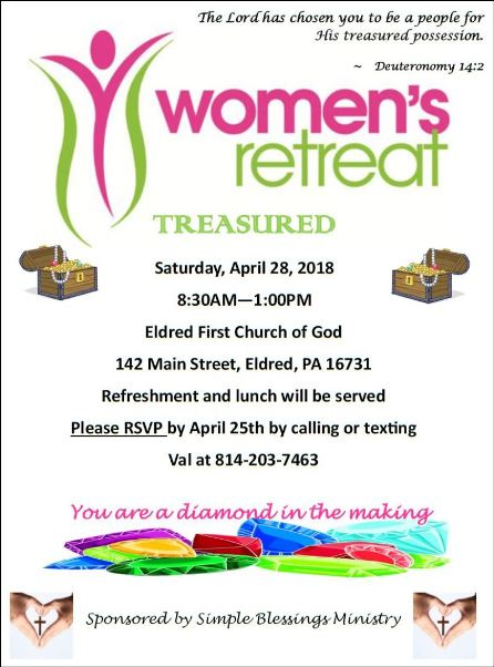 4-28 Woman's Retreat