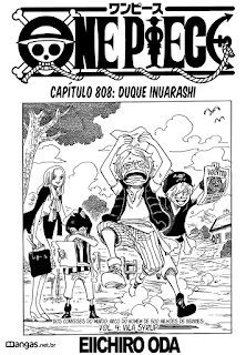 One Piece 808 Mangá Português leitura online