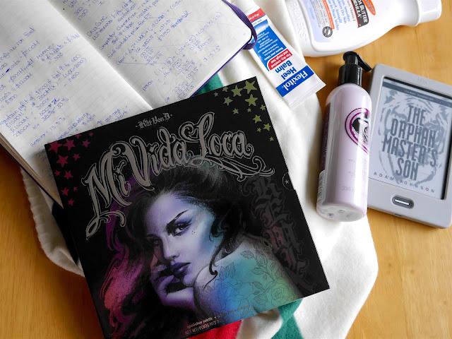 kat von d mi vida loca remix palette swatch review