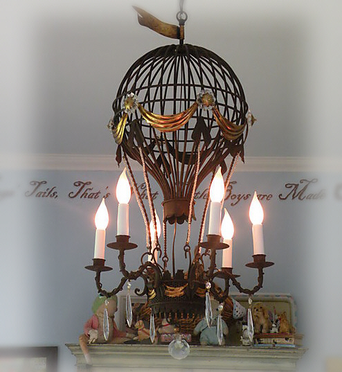 Tea at trianon a montgolfier chandelier aloadofball Choice Image
