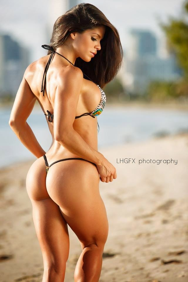 Michelle Lewin Sey Hot Modelo Fitness