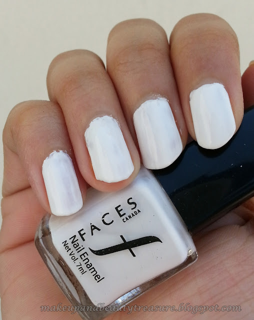 Faces Canada Nail Enamel White O White