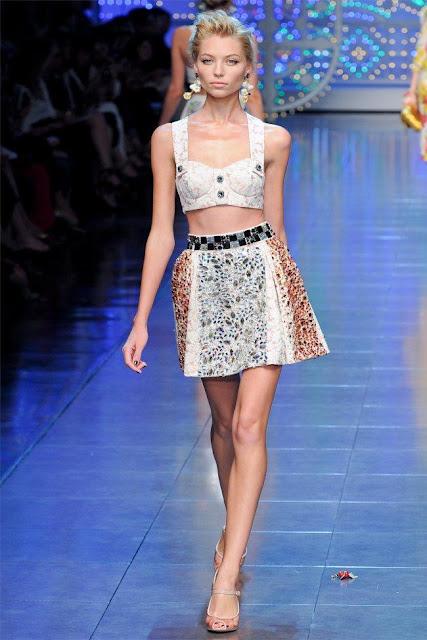 dolce gabbana29 - Dolce&Gabbana Ilkbahar 2012 | Milan Moda Haftas�