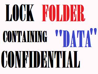 Lock A Specific Folder In Windows - ITTWIST