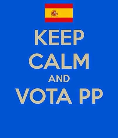 KEEP CALM and VOTA PP