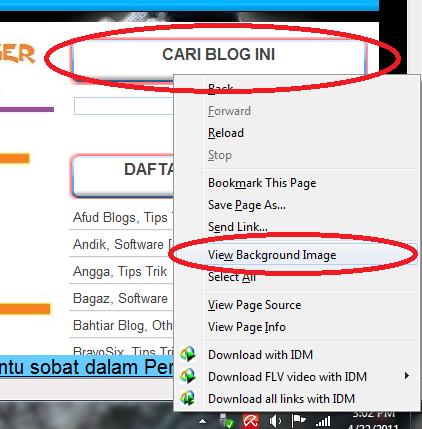 At bottom blogger sidebar