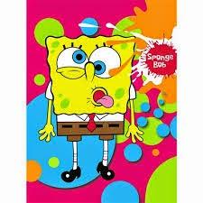 Jual Selimut Rosanna Soft Panel Blanket Spongebob