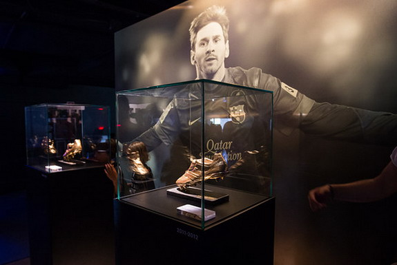 Lionel Messi Now Has Own Exclusive Space At Barcelona