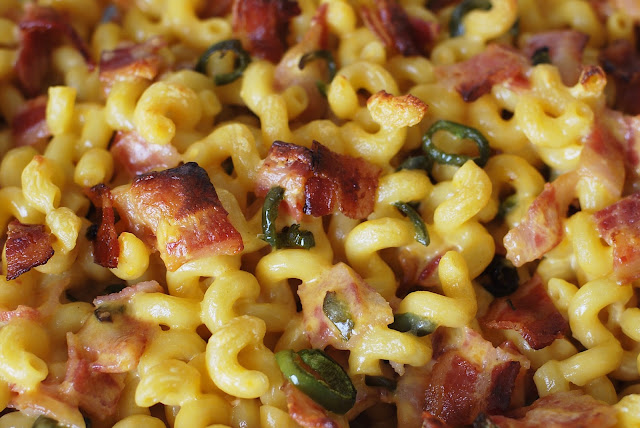 Simple bacon macaroni and cheese recipe