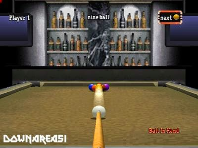 Backstreet Billiards PSX Game