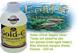 Jelly Gamat 100% Asli Goldg