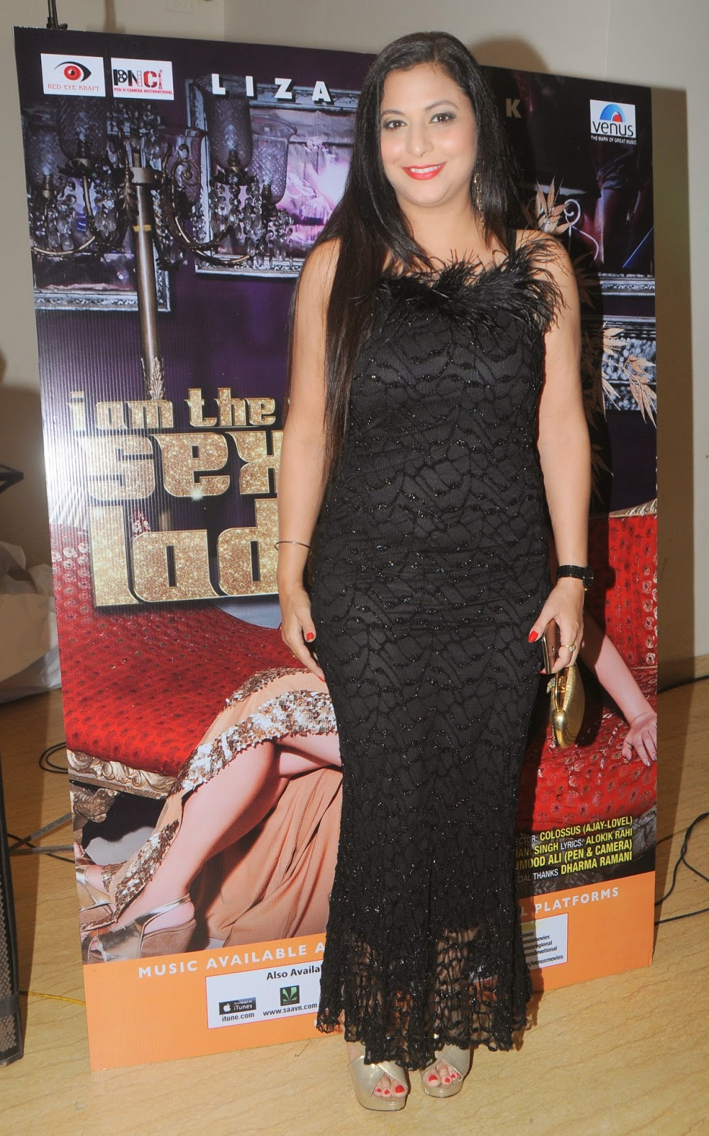 Liza Malik 'I'm the only sexy lady' Song Launch Event