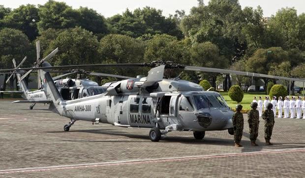 18 Black Hawks para Mexico