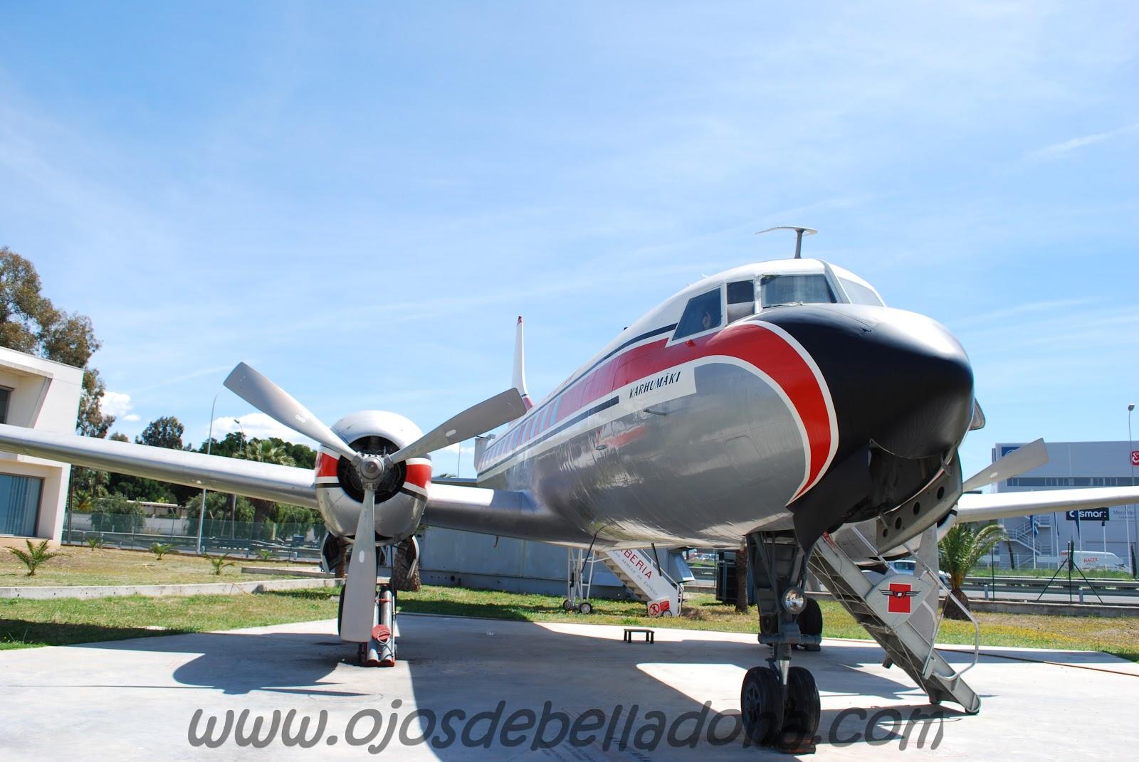 Convair 440 Kar Air Museo de la Aviación Málaga