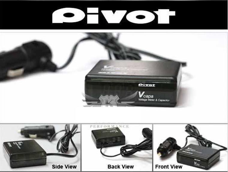 Pivot V Capa ( Voltage Stabilizer with Volt meter) - RM100