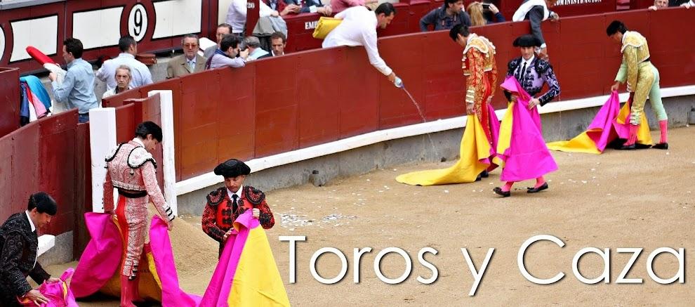 TOROS Y CAZA