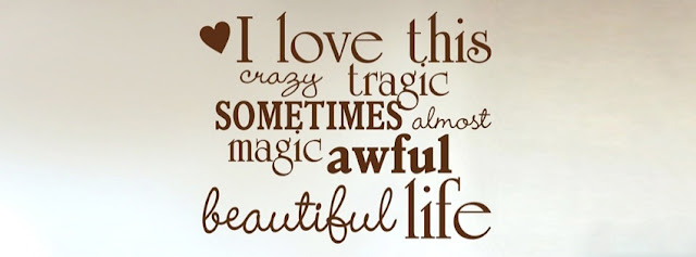 facebook timeline cover Quotes I love this life