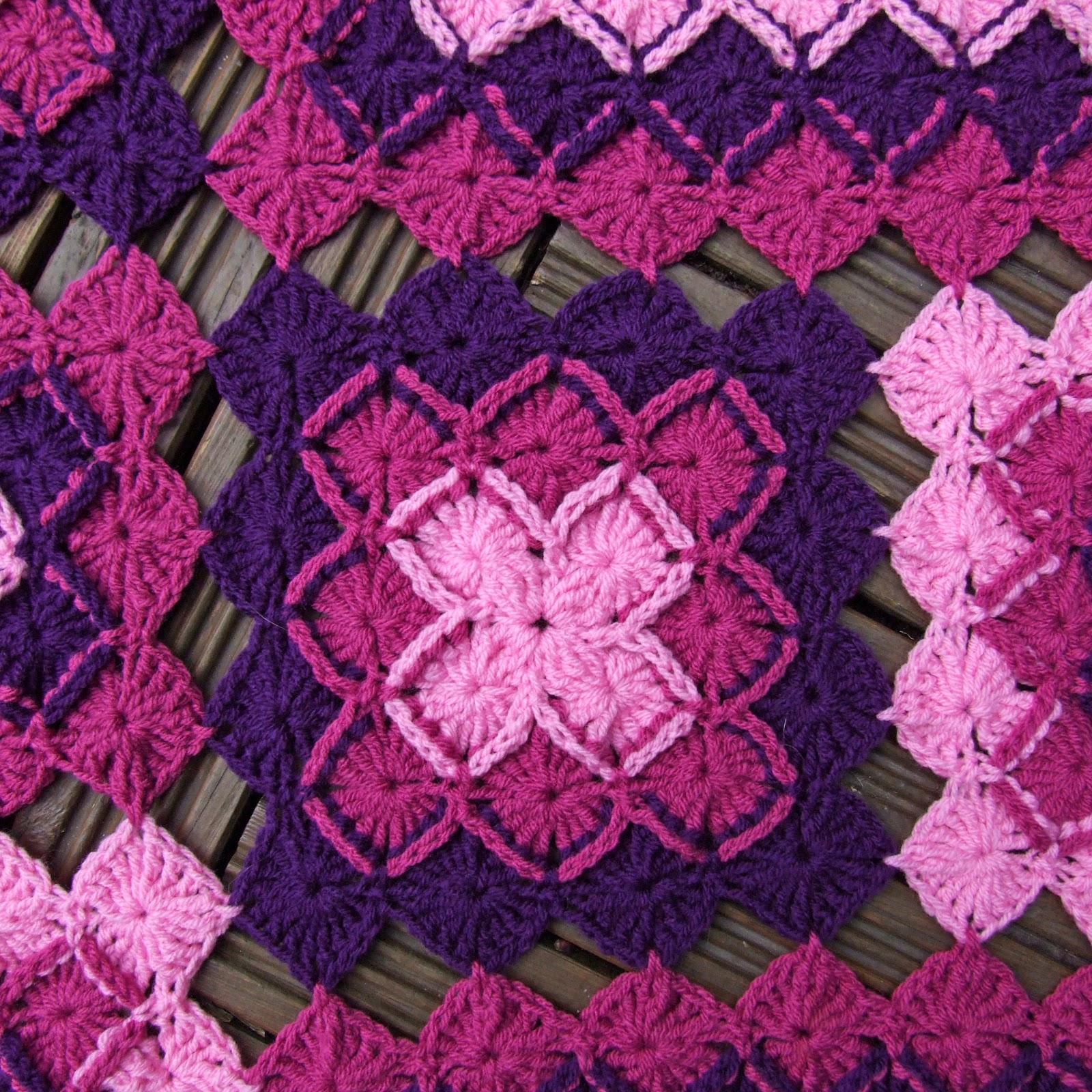 Bavarian Crochet Lap Blanket - TA DA!!! - WoolnHook by Leonie Morgan