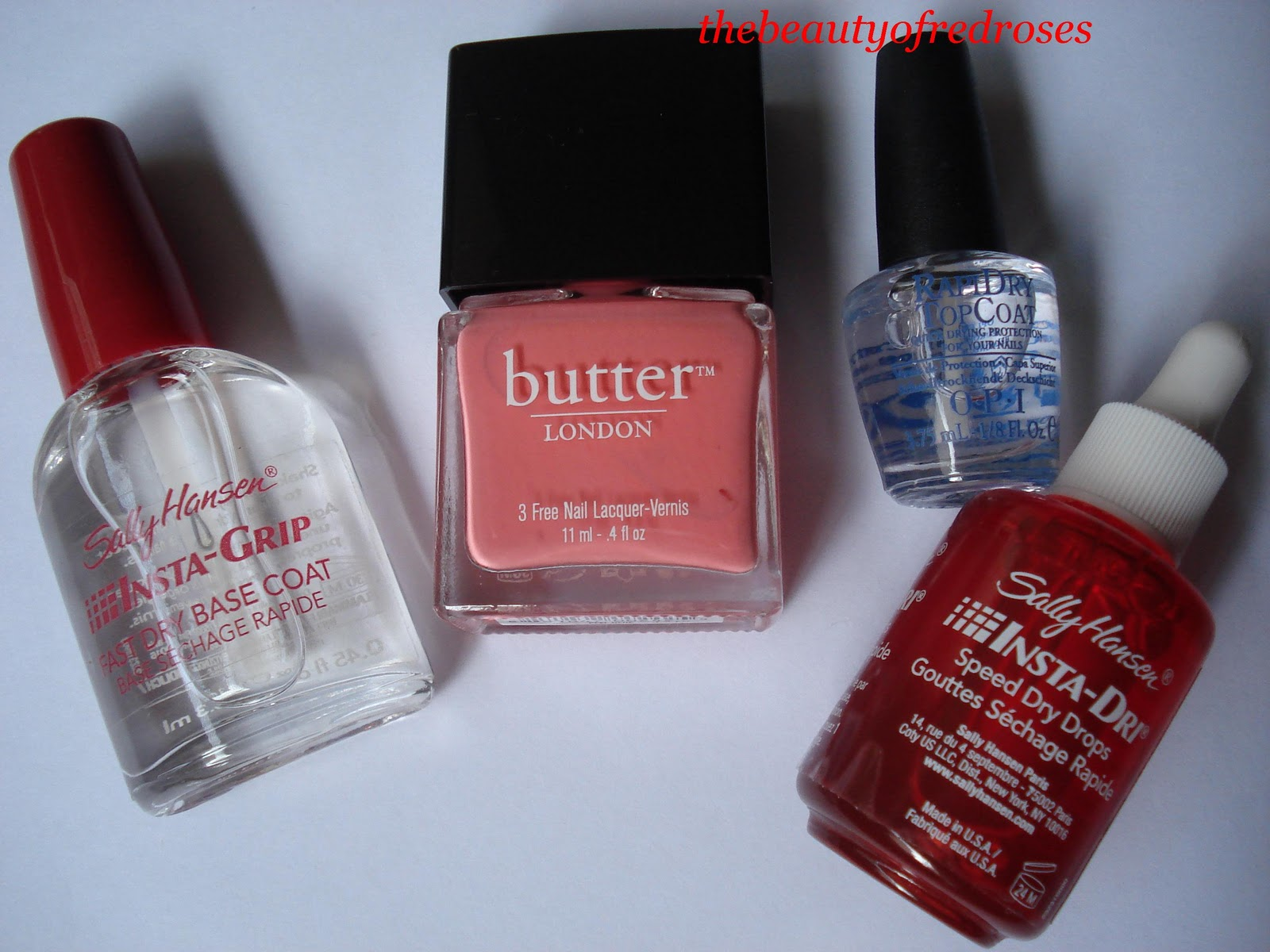 The Beauty of Red Roses: Madison Magazine + Butter London Nail Polish