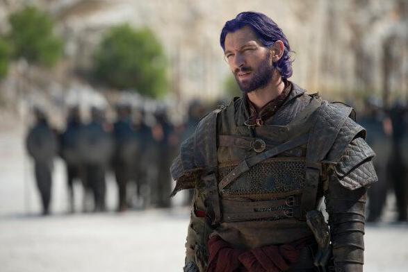 Daario Naharis barba y pelo azul - Juego de Tronos en los siete reinos