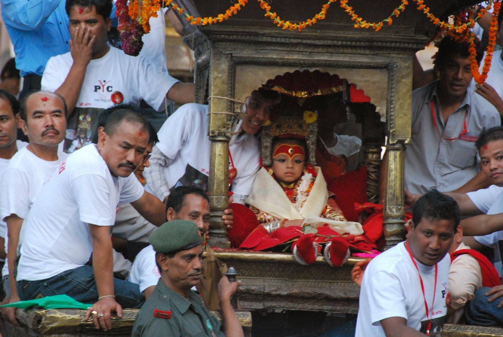 Kumari Nepal Levende Godin
