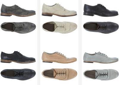 Zapatos derbies para mujer en varios colores y diseños