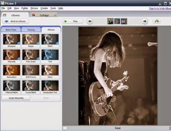 Picasa Photo Editor 3.9 Build 138.15