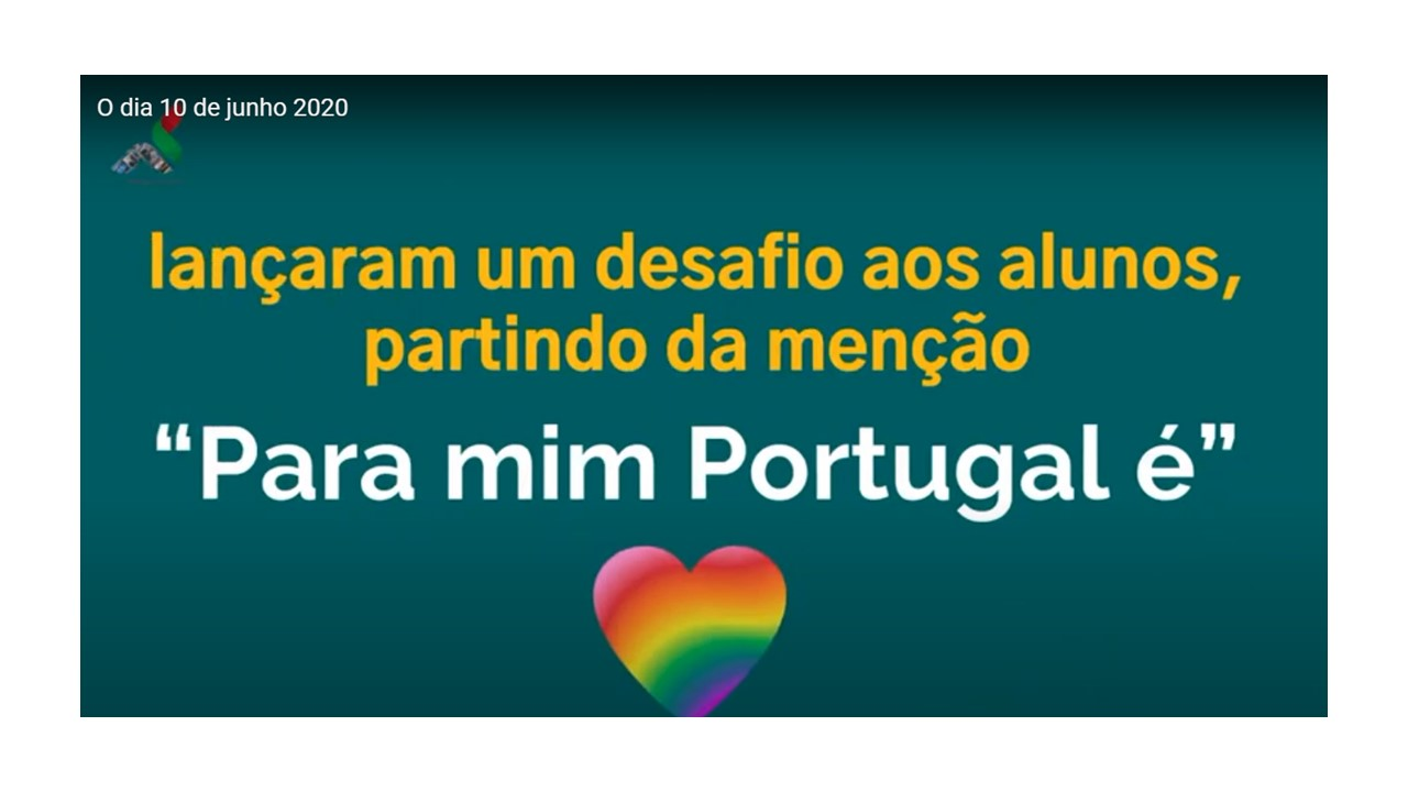 """""""PARA MIM PORTUGAL É..."""""""