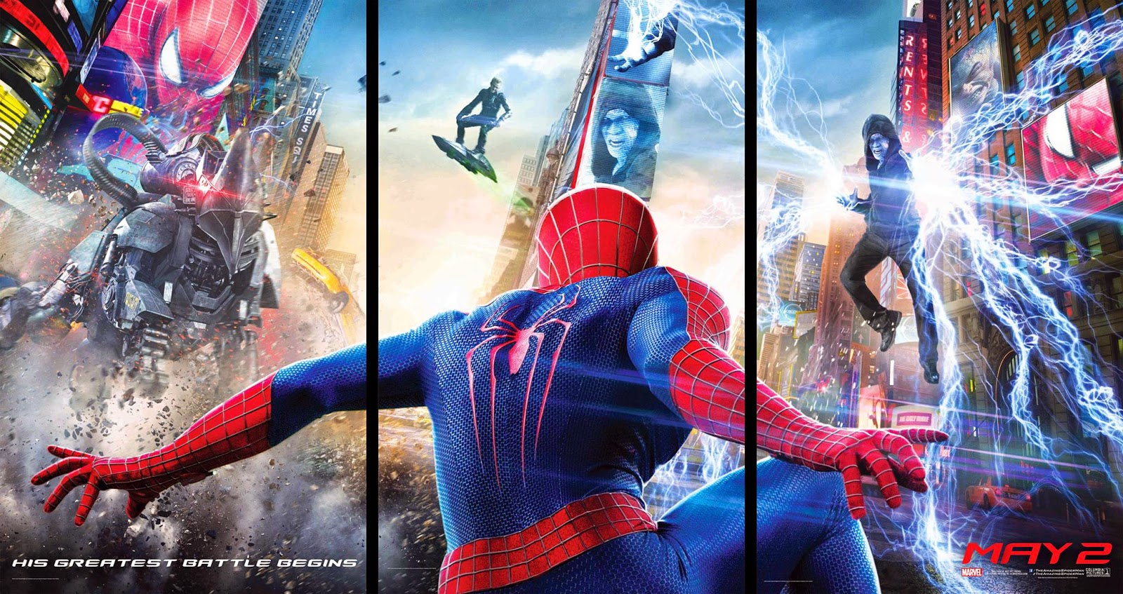 Người Nhện 2: Sự Trỗi Dậy Của Người Điện - The Amazing Spiderman 2: Rise of Electro - 2014