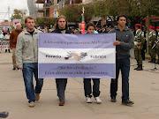 Desfile 25 de mayo de 2012 - Centenario de Hernando desfile de mayo pancarta aã±os