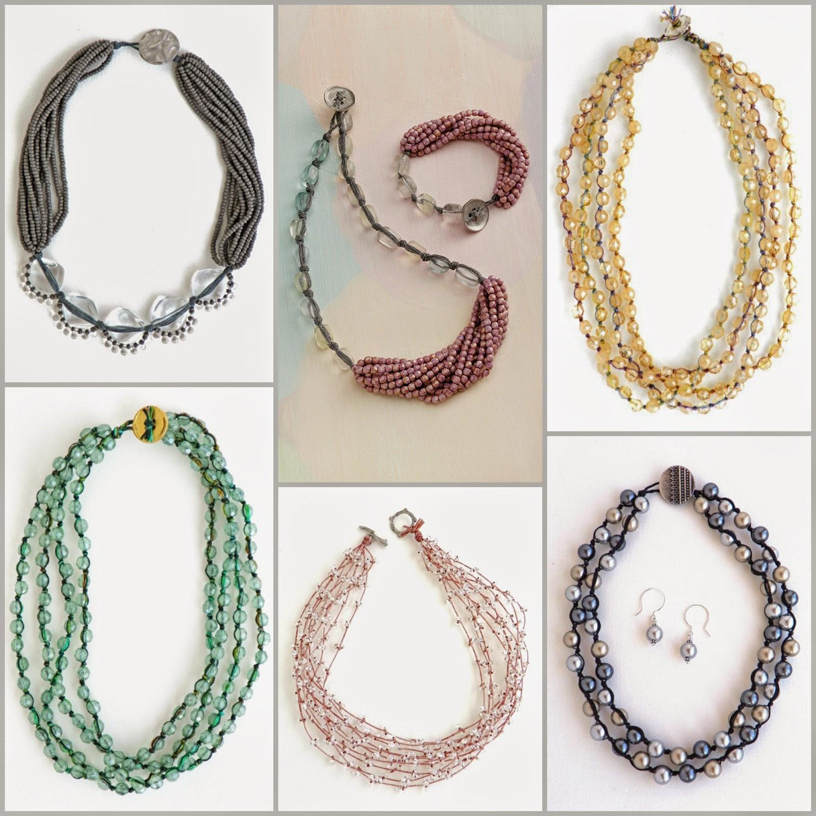 Linen Jewellery: Erin Siegel Jewelry: Waxed Linen Jewelry, Tutorials And