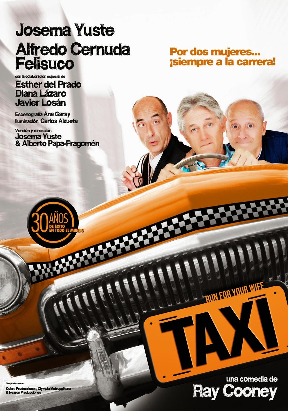 """EL """"Taxi"""" de la risa"""