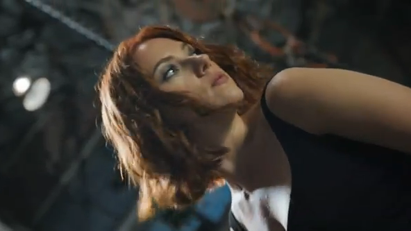 The Avengers 2012 Super Bowl Spot Extended Movie Trailer Black Widow