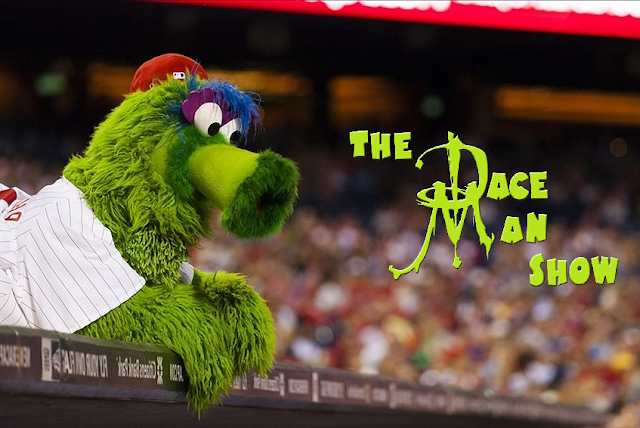 Dace Man Show podcast Phillie Phanatic
