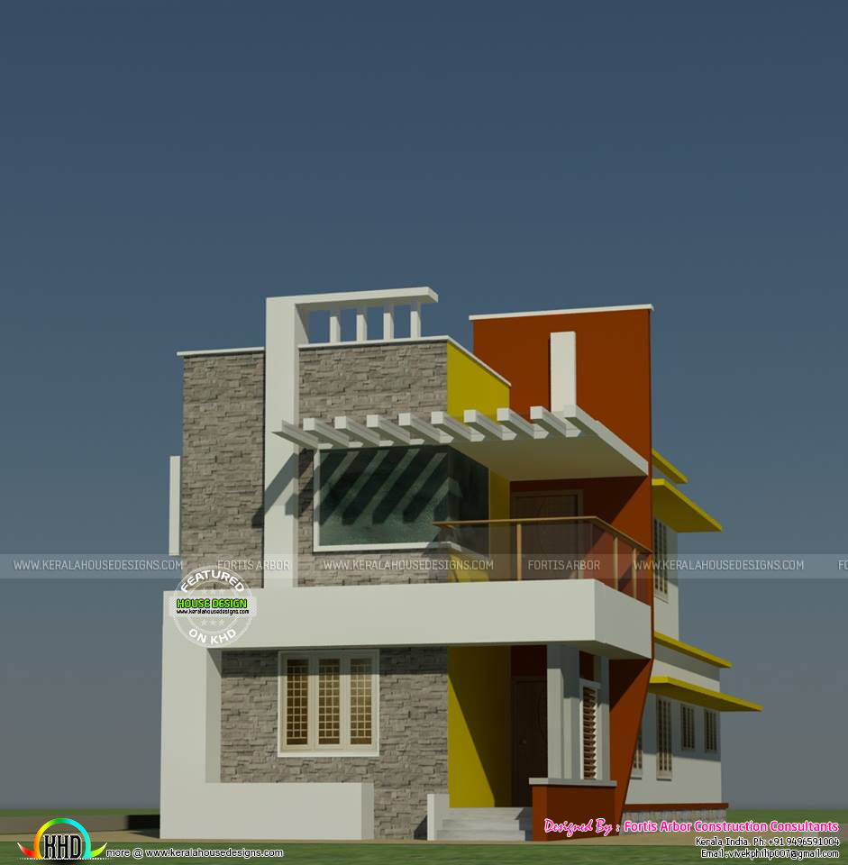 Small contemporary style 4 bedroom home