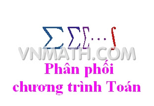 Phân phối chương trình Toán THCS, THPT theo hướng giảm tải