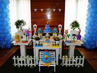 Decoração festa infantil Porto Alegre - Galinha Pintadinha