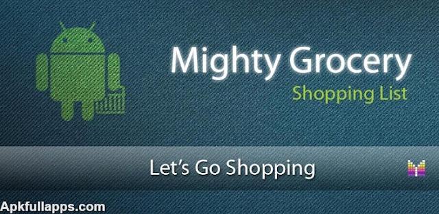Mighty Grocery Shopping List Full v2.1